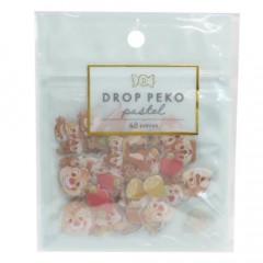 Japan Disney Drop Peko Pastel Sticker Pack - Chip & Dale