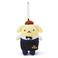 Japan Sanrio Keychain Plush - Pompompurin / Cafe
