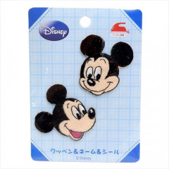 Japan Disney Embroidery Iron-on Applique Patch - Mickey 2pcs