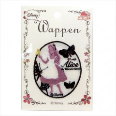 Japan Disney Embroidery Iron-on Applique Patch - Alice / Silhouette