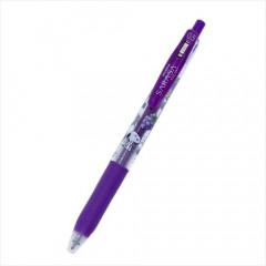 Japan Peanuts Sarasa Clip Gel Pen - Snoopy / Purple