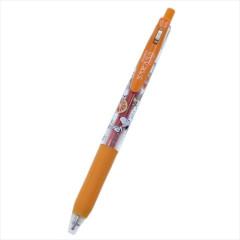 Japan Peanuts Sarasa Clip Gel Pen - Snoopy / Orange
