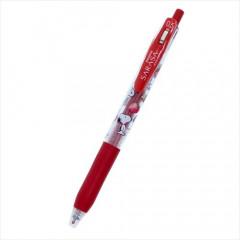 Japan Peanuts Sarasa Clip Gel Pen - Snoopy / Red