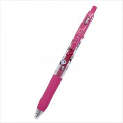 Japan Peanuts Sarasa Clip Gel Pen - Snoopy / Pink