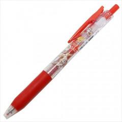 Japan Disney Sarasa Clip Gel Pen - Chip & Dale / Red