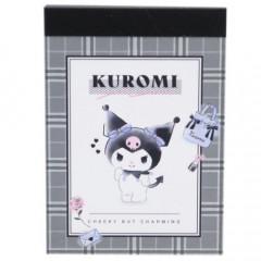 Japan Sanrio B8 Mini Notepad - Kuromi
