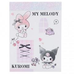 Japan Sanrio B8 Mini Notepad - My Melody & Kuromi