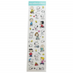 Japan Peanuts My Collect Sticker - Snoopy & Friends