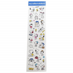 Japan Peanuts My Collect Sticker - Snoopy & Family