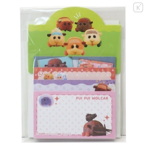 Japan Pui Pui Molcar Sticky Notes with Stand B - 1