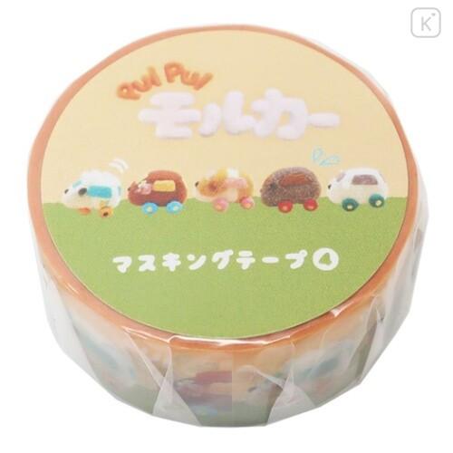 Japan Pui Pui Molcar Washi Paper Masking Tape - Congestion - 1