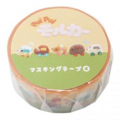 Japan Pui Pui Molcar Washi Paper Masking Tape - Congestion