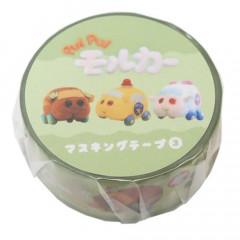 Japan Pui Pui Molcar Washi Paper Masking Tape - Choco & Emergency Molker & Pat Molker
