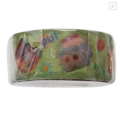 Japan Pui Pui Molcar Washi Paper Masking Tape - Choco & Emergency Molker & Pat Molker - 3