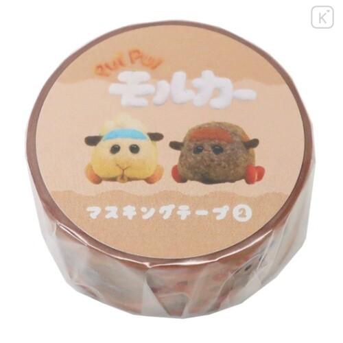 Japan Pui Pui Molcar Washi Paper Masking Tape - Abbey & Teddy - 1