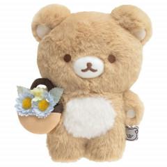 Japan San-X Fluffy Plush - Rilakkuma / Rilakkuma Marche