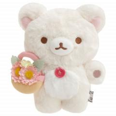 Japan San-X Fluffy Plush - Korilakkuma / Rilakkuma Marche