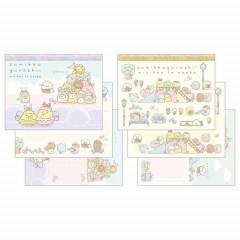 Japan San-X Mini Notepad Set - Sumikko Gurashi / Playground