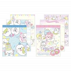 Japan San-X Mini Notepad Set - Mamegoma / Party
