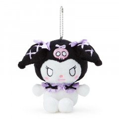 Japan Sanrio Keychain Plush - Kuromi / Romiare Purple