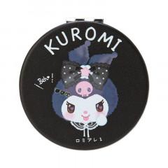 Japan Sanrio 2-sided Pocket Mirror - Kuromi / Romiare