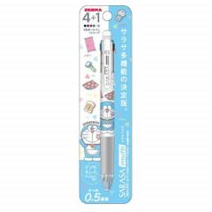 Japan Doraemon Sarasa Multi 4+1 Pen & Mechanical Pencil A