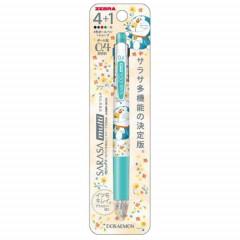 Japan Doraemon Sarasa Multi 4+1 Pen & Mechanical Pencil C
