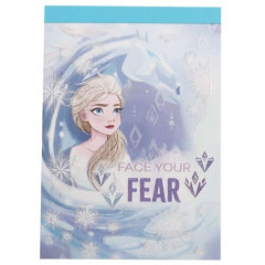 Japan Disney Mini Notepad - Frozen 2 / Face Your Fear
