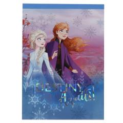 Japan Disney A6 Notepad - Frozen 2 / Destiny Awaits