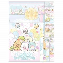 Japan San-X Letter Envelope Set - Sumikko Gurashi / Playground