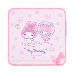 Japan Sanrio Handkerchief Petit Towel - My Melody / Nakayo Hanbunko