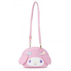 Japan Sanrio Pochette Shoulder Bag - My Melody / Nakayo Hanbunko