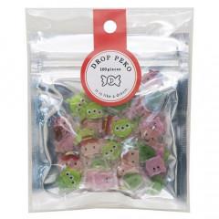 Japan Disney Drop Peko Flake Sticker Pack - Tsum Tsum Toy Story
