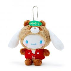 Japan Sanrio Keychain Plush - Cinnamoroll / Yokai