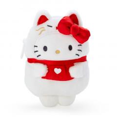 Japan Sanrio Mascot Mini Pouch - Hello Kitty / Yokai