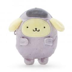Japan Sanrio Mascot Mini Pouch - Pompompurin / Yokai