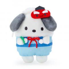 Japan Sanrio Mascot Mini Pouch - Pochacco / Yokai
