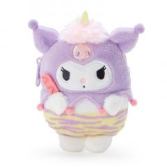 Japan Sanrio Mascot Mini Pouch - Kuromi / Yokai