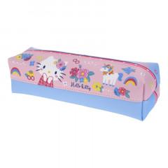 Sanrio Double Zipper Pen Pouch - Hello Kitty
