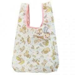 Japan Disney Ecot Mini Eco Shopping Bag - Chip & Dale