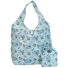 Japan Disney Japan Disney Eco Shopping Bag with Mini Bag - Toy Story / Blue