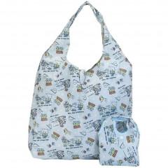 Japan Disney Eco Shopping Bag with Mini Bag - Toy Story / Mint