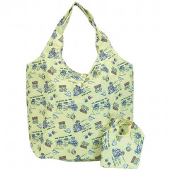 Japan Disney Eco Shopping Bag with Mini Bag - Toy Story / Yellow