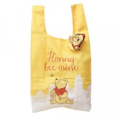 Japan Disney Ecot Mini Eco Shopping Bag - Pooh