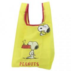 Japan Peanuts Ecot Mini Eco Shopping Bag - Snoopy & Woodstock