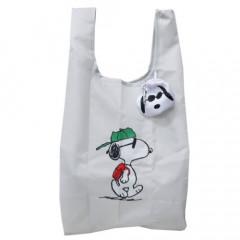 Japan Snoopy Ecot Mini Eco Shopping Bag - Snoopy Joe Cool
