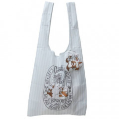 Japan Disney Ecot (M) Eco Shopping Bag - Chip & Dale