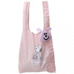 Japan Peanuts Ecot Mini Eco Shopping Bag - Snoopy / Rabbit