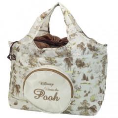 Japan Disney Ecot Large Eco Shopping Bag - Pooh