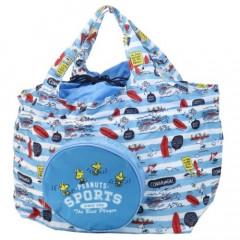 Japan Peanuts Ecot Large Eco Shopping Bag - Snoopy / Surf